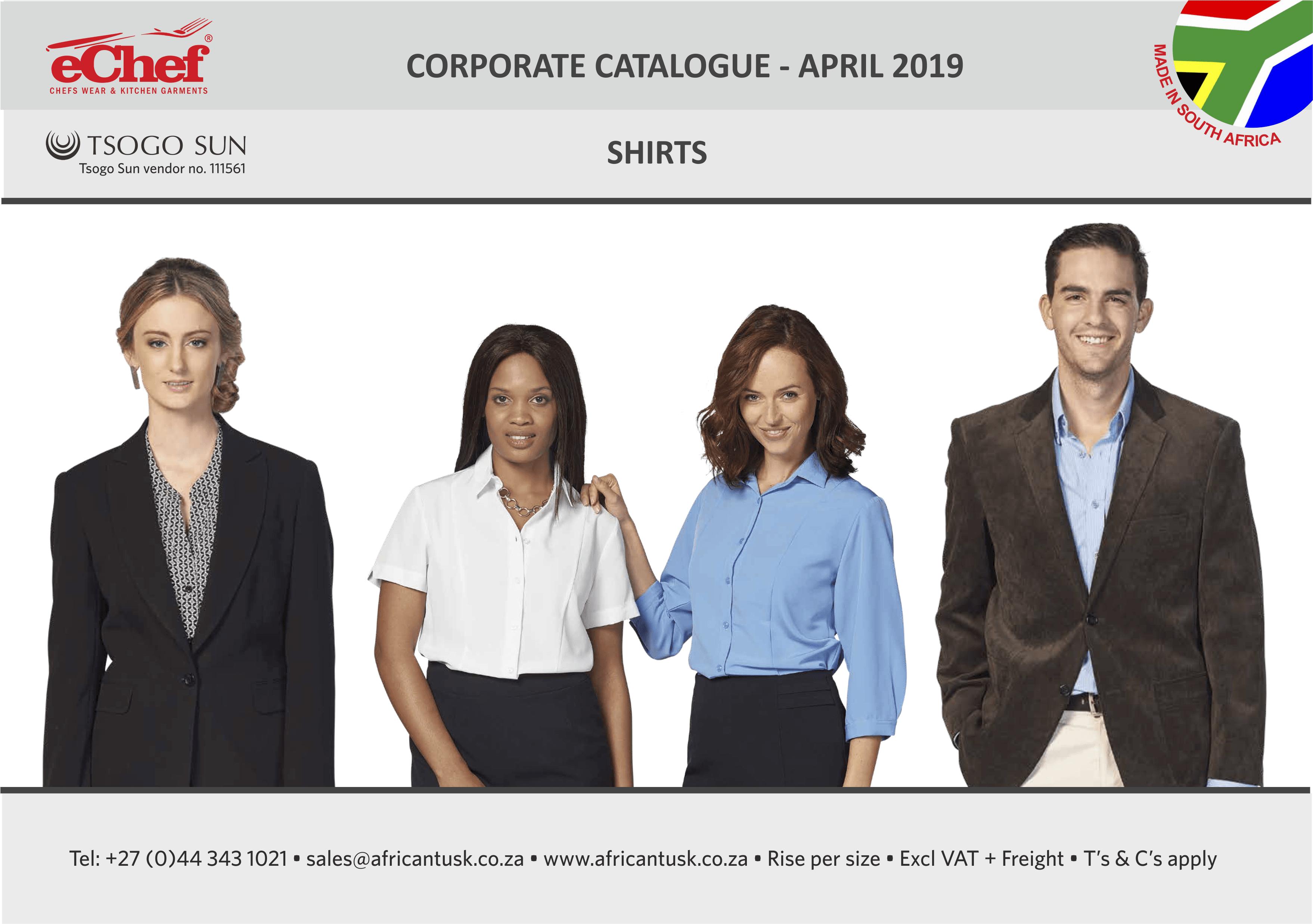 corp shirts 2019