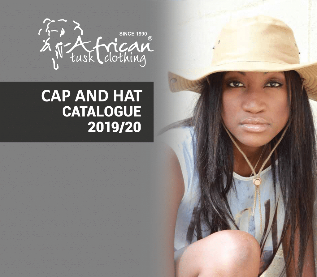 CAPTIVITY CAP AND HATS CATALOGUE 2019 FRONT PAGE